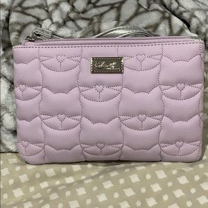 Betsey Johnson 2-in-1 Wristlet and Sling Bag